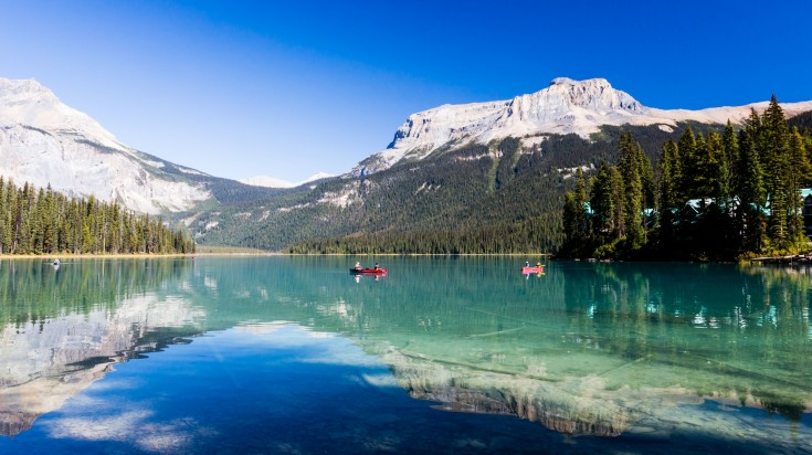 Yoho National Park in Canadian Rockies