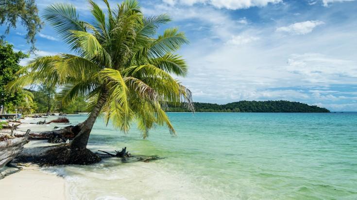 beautiful beaches in koh rang island