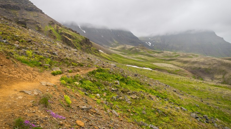 Mt Esja is a great day hike in Iceland