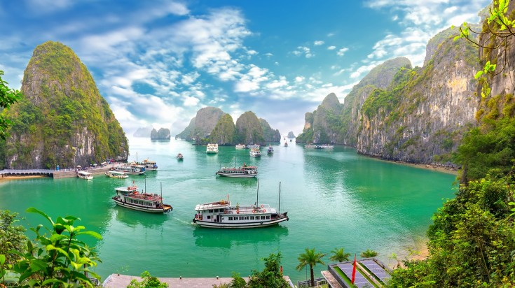 10 day vietnam itinerary halong bay