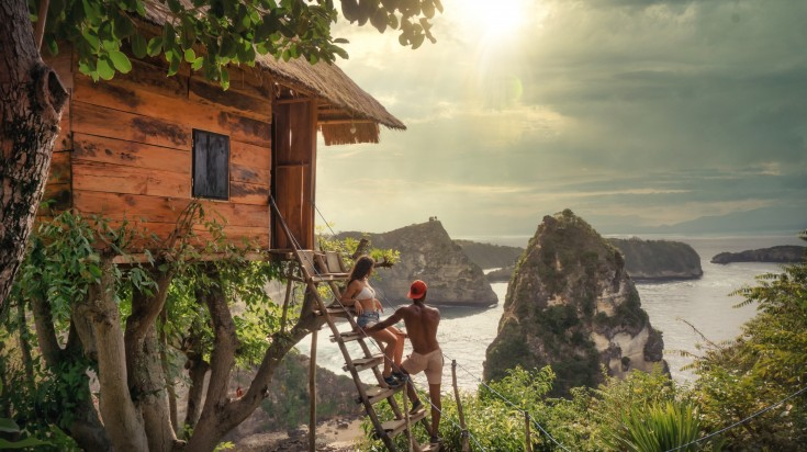 A romantic getaway in Bali might be just what you need.
