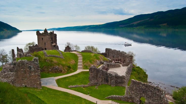 The mysterious Loch Ness