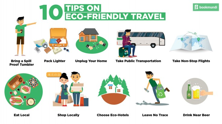 10 ways you can travel more eco-friendly