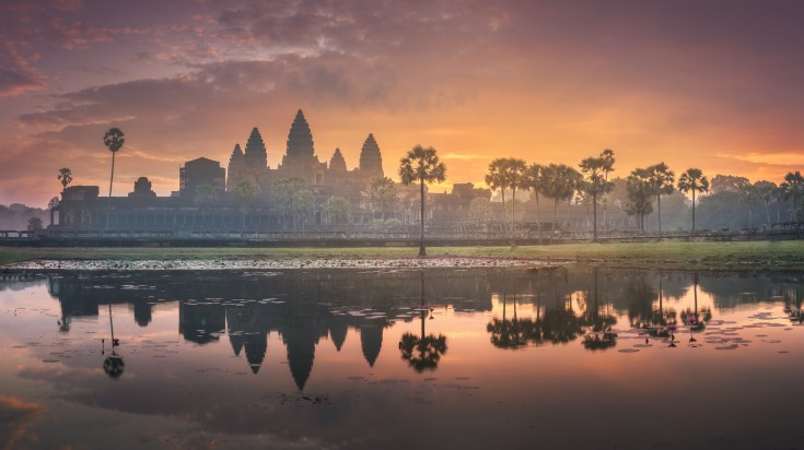 Angkor Wat at the start of a new day