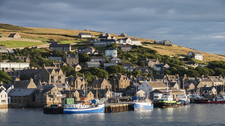 The aesthetic abode of Stromness village