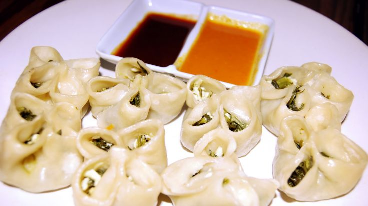 Open Momo is a creative Nepalese food found in the Nepalese restaurants in Nepal