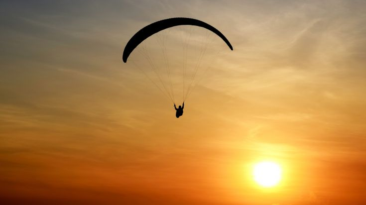 Paragliding is a top thing to do in Lima