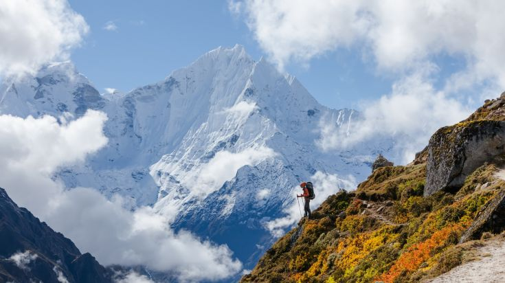 Amazing view see during Annapurna panorama trek