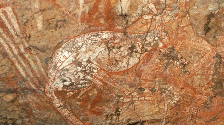 Kakadu National Park is a great place to admire aboriginal art