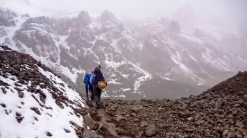 Trek to Aconcagua Base Camp