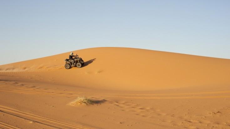 Adventures in Dubai : Quad biking