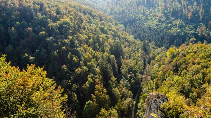 Albsteig is a beautiful hiking trail of Germany