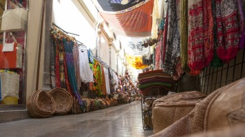 Alcaiceria market in Granada