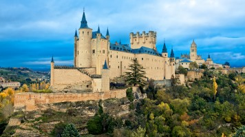 The Real Alcazar in Toledo Spain
