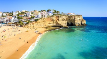 Algarve Coast is known for its beautiful beaches