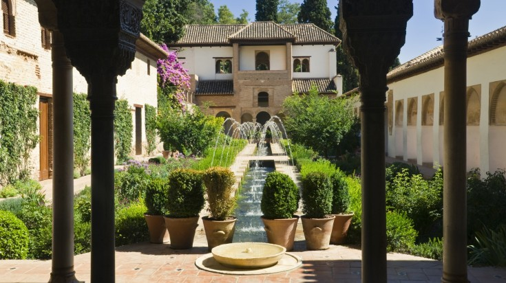 Generalife in Alhambra