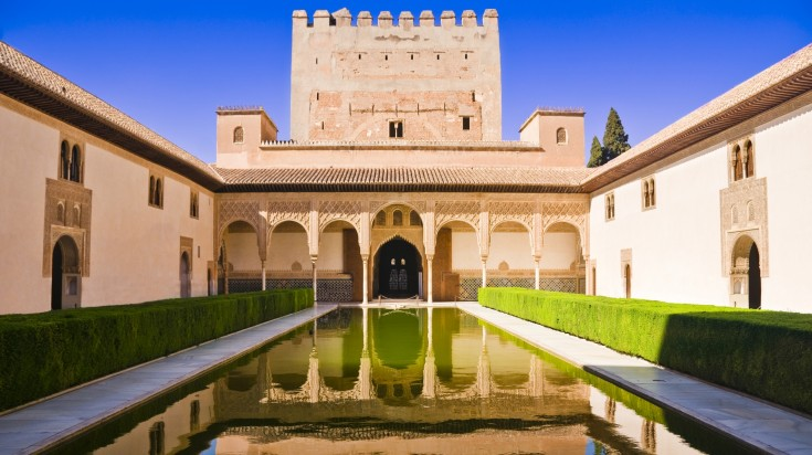 Nasrid Palaces in the Alhambra