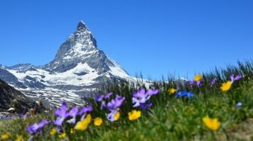 Best outdoor destinations in Switzerland include visitng the Swiss Alps.