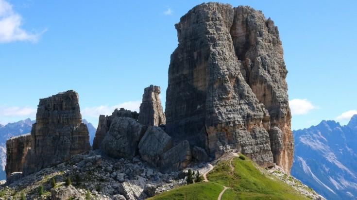 Hiking in Italy via Alta Via 1, Dolomites
