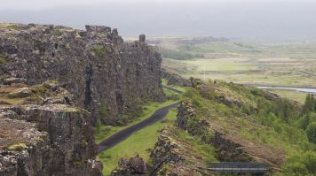 Althing was the first parliament at Thingvellir national park