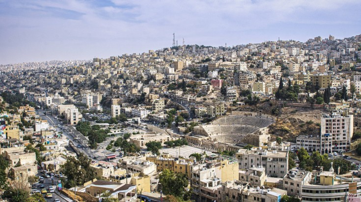 Amman, the capital city of Jordan.