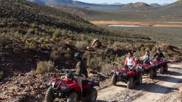 Quad Biking Safari near Cape Town