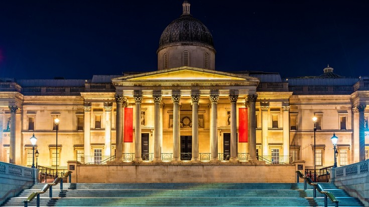 Visit one of the many museums in the UK like the National Gallery