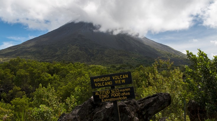 Hiking in Arenal Volcano is strenuous but a thrilling