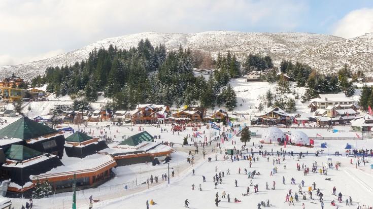 Ski in Bariloche during winter in Argentina