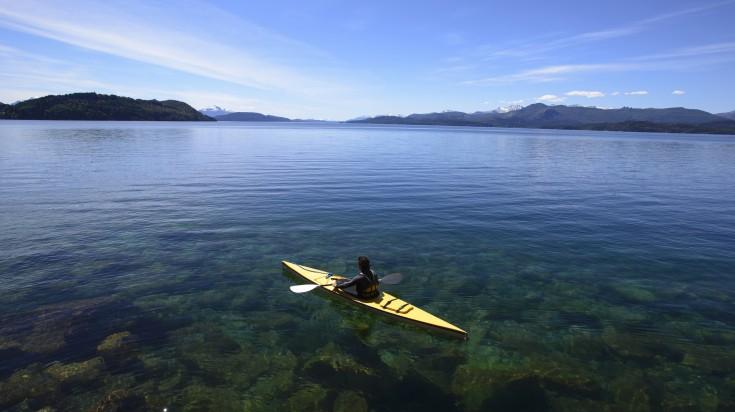Argentina Nahuel Huapi Kayaking