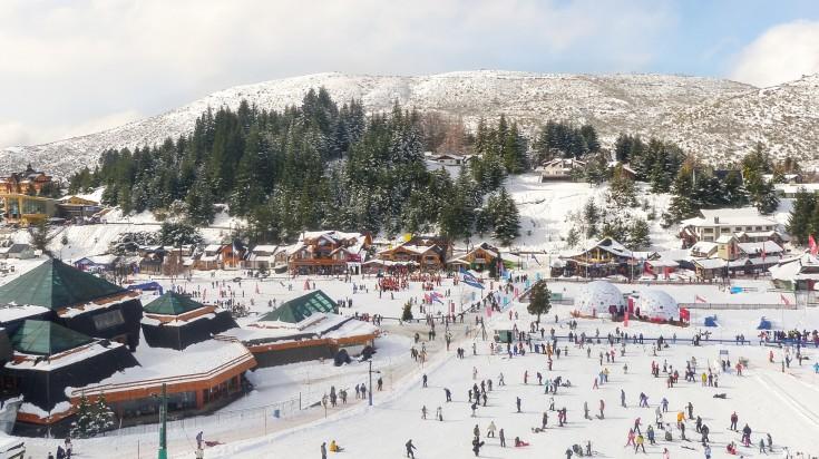 Skiing in Nahuel Huapi National Park