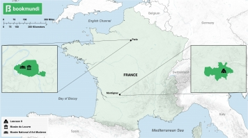 Map of Art museums in France