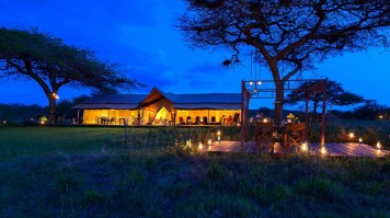 Asanja Africa Camp will be magical and intimate any time of year