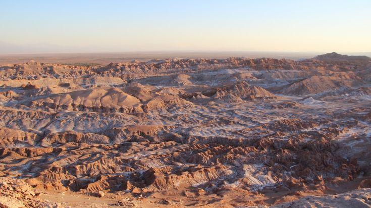 Valle de la Luna in Atacama Desert