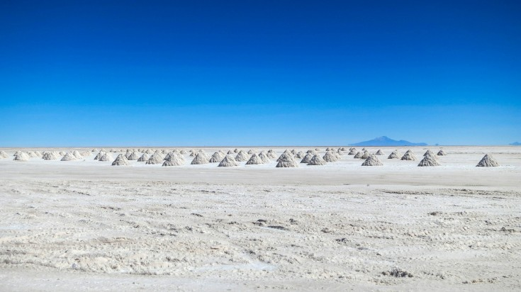 Salar de Tara in Atacama Desert