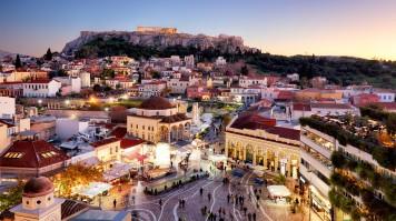 Athens and its lively Monastiraki and The Acropolis.