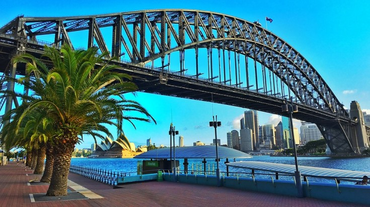 Sydney Harbour Bridge, a great stop to visit on an Australia itinerary