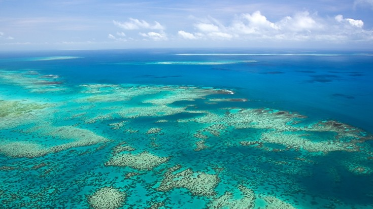 In an Australia itinerary, visit the Great Barrier Reef