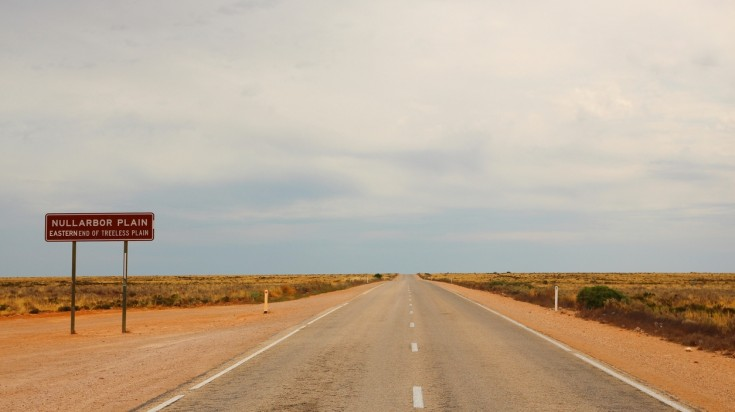 Australian outback nullarbor
