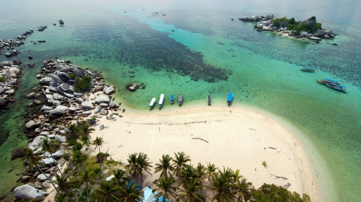 The Indonesian Islands of Banka Belitung are rarely visited by foreigners.