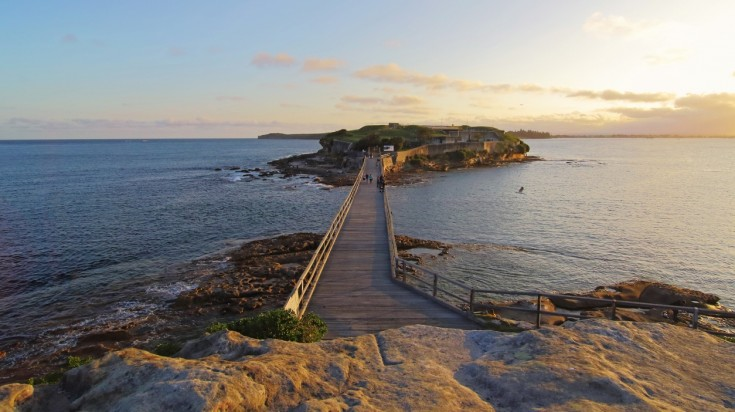 Bare Island is a great place to go diving in sydney