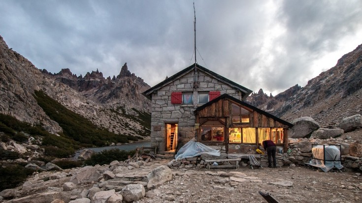 Refugio Frey in Bariloche