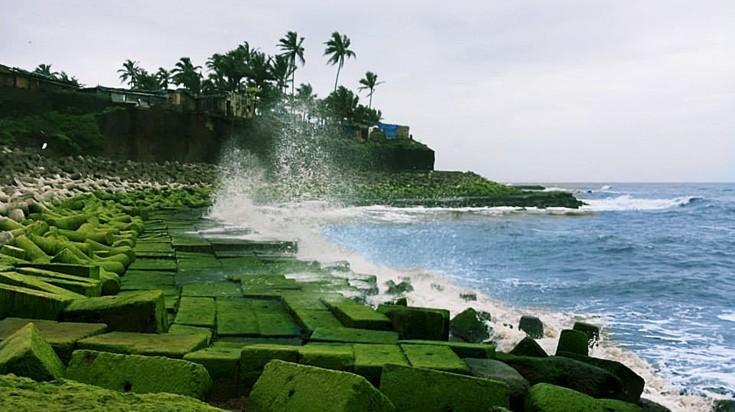 Anjuna beach in Goa