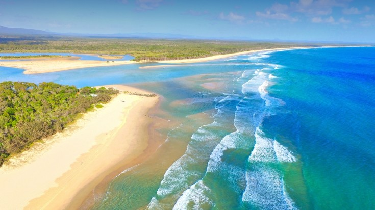 Best beaches in Australia Noosa beach