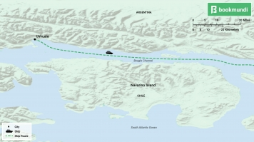 Beagle Channel map