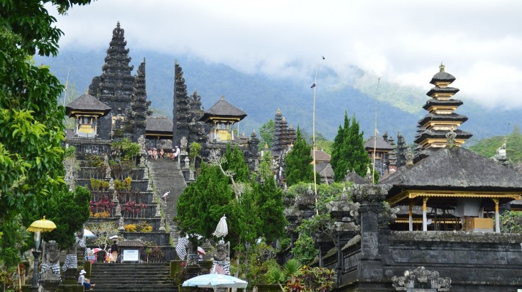 One of the best place to visit in Bali, the Besakih temple is worth a visit