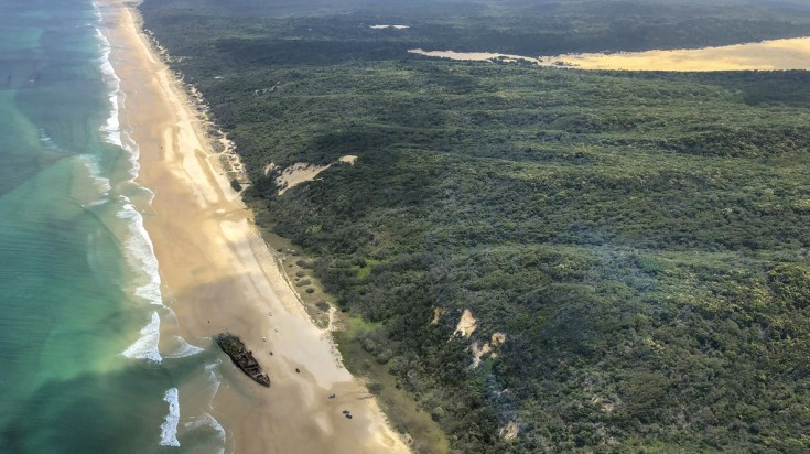 best beaches in Australia Fraser island