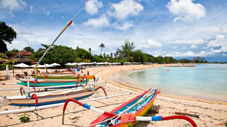 Sanur is one of the best beaches in Bali