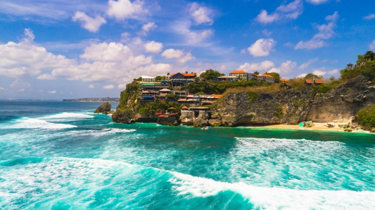 Suluban is one of the best beaches in Bali