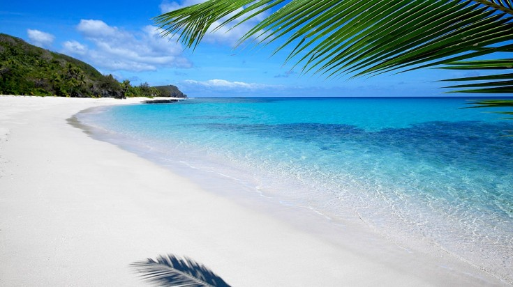 best beaches in the world Fiji